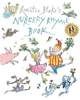NEW Quentin Blake's Nursery Rhyme Book By Quentin Blake Paperback Free Shipping