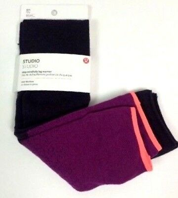 Lululemon Studio Step Mindfully Leg Warmer Tights Socks Dance Yoga Gym Wool NEW