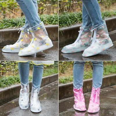 Anti-Slip Waterproof Reusable Shoes Covers Rain Protective Cover for Shoes NI