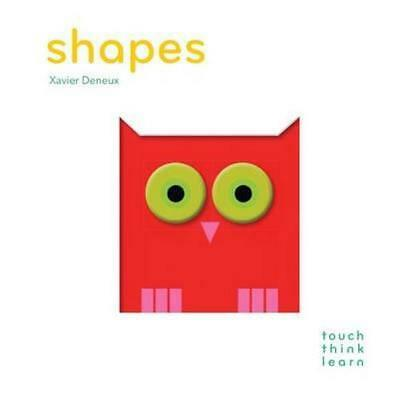 NEW Shapes By Xavier Deneux Board Book Free Shipping