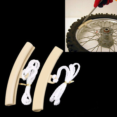 2pcs Motorcycle Changing Tyre Tire Wheel Rim Edge Protectors Saver Tool GT WN