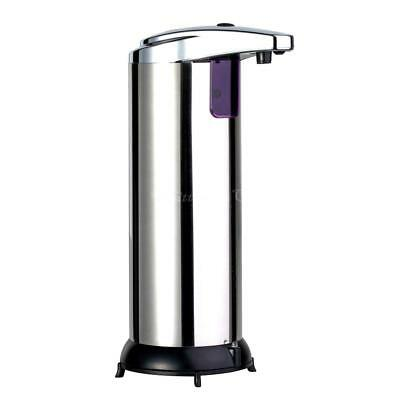Stainless Steel Handsfree Automatic IR Sensor Touchless Soap Liquid Dispenser CW