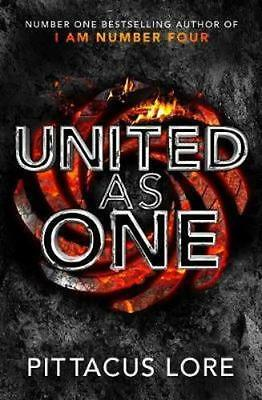 NEW United as One By Pittacus Lore Paperback Free Shipping
