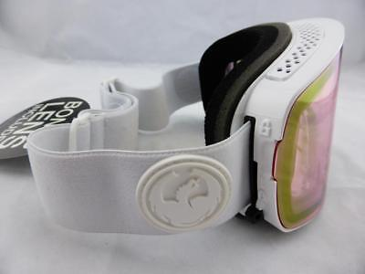 Dragon NFX2 Frameless Snow Goggles Whiteout - Pink Ion + Ionised Lens