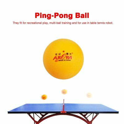 10 Pcs Practice Ping-Pong Ball Table Tennis Ball Match Training Equipment N1