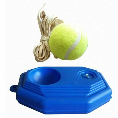 Rebound Tennis Trainer Self-study Set Training Aids Practice Partner Equipment E