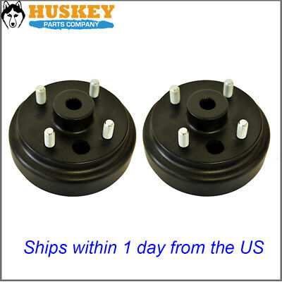 EZGO Golf Cart Brake Drum Hub 82+ TXT Pair (2)