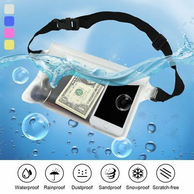 Universal Waterproof Underwater Pouch Dry Bag Case Cover For iPhone Touchscreen