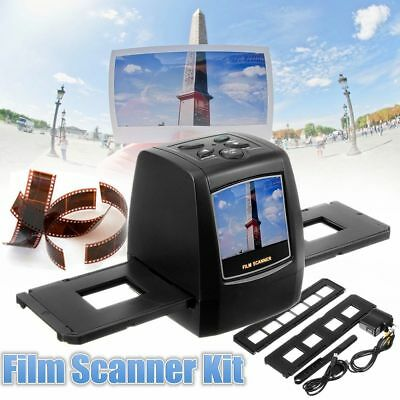 Portable High Resolution 22MP All-In-1 Film & Slide Scanner for Super 100%NEW NI