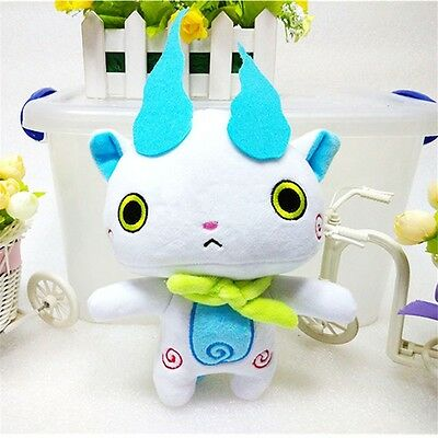 Yokai Watch Soft Plush Toys Cute JIBANYAN WHISPER KOMASAN Doll Gifts 20cm
