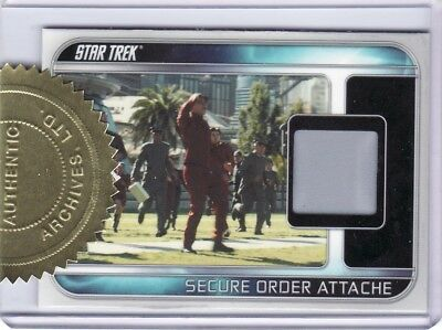 Star Trek Movie XI 2009 Rare RC1 Attache Case Relic Card 127/250