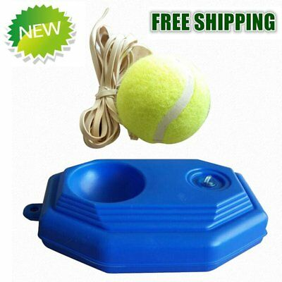 Rebound Tennis Trainer Self-study Set Aids Practice Partner Equipment N4