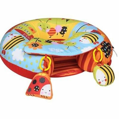 Red Kite Sit Me Up Garden Gang Inflatable Ring Baby play chair 9m+
