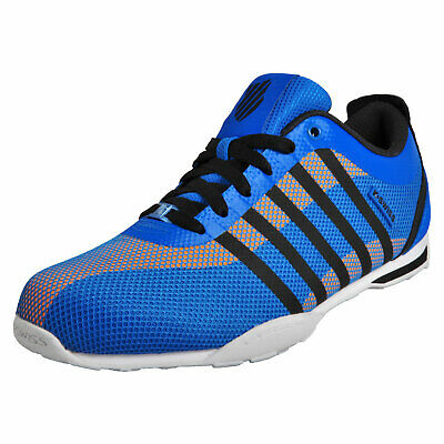 K-Swiss Mens Arvee 1.5 Tech Trainers Low Retro Style Iconic Athletic Shoes Blue