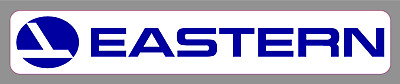 "Eastern Airlines 6"" Premium Vinyl Decal Bumper Sticker Vintage Old School"