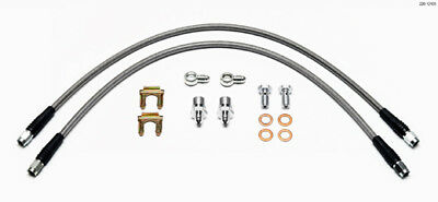 "Wilwood 220-12105 18"" -3 Universal Banjo Brake Hose Kit #5185"