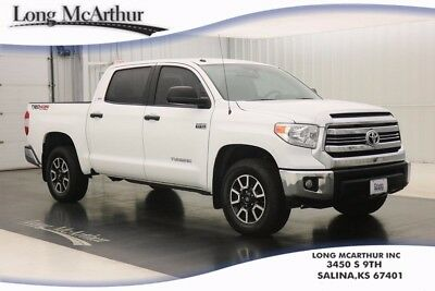 """2017 Toyota Tundra SR5 6 SPEED AUTOMATIC 4WD CREW CAB TRUCK  4X4 CREWMAX V8 4X4 4 DOOR ALL WEATHER LINERS AND DOOR SILL PROTECTORS 18"""" OFF ROAD WHEELS"""