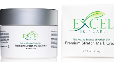 Premium Stretch Mark Cream 4.0 Oz/118ml Natural Soothing Vitamins  NEW IN BOX