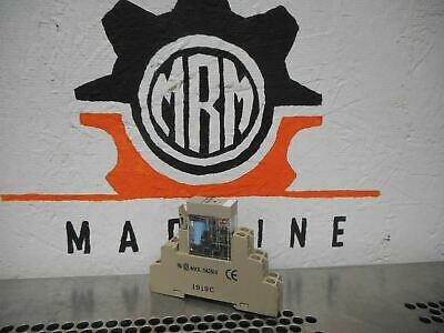 Omron G2R-2-S(S) 24VDC Relay And P2RF-08-E Relay Base 5A 250VAC Used W/ Warranty