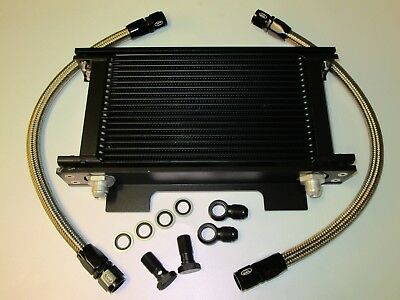 Suzuki GSXR1100 86-88 Oil Cooler Kit c/w Brackets and HEL Performance Lines