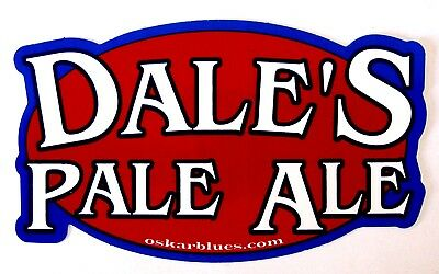 Oskar Blues Brewery DALE'S PALE ALE  brewery sticker ..not a beer label CO