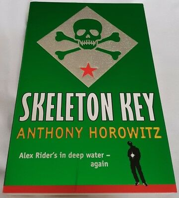 SKELETON KEY - Anthony Horowitz | Paperback (Alex Rider)