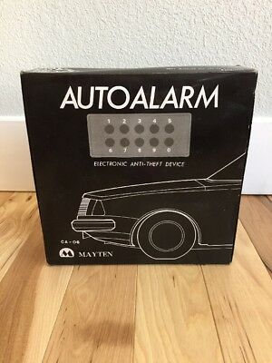 Vintage Mayten Electronic Auto Alarm Car Truck Burglar Anti-theft device NEW