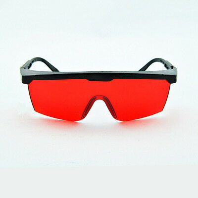 Portable Protection Goggles Laser Safety Glasses Green Blue With Velvet Box WN