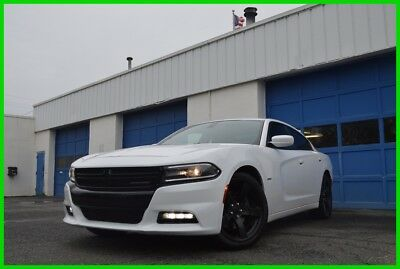 2015 Dodge Charger R/T Rear View Camera Alpine Audio Blind Spot Monitor Rear Spoiler Black Wheels +More