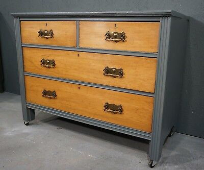 Antique Satinwood Chest of Drawers (RR207FA1358)