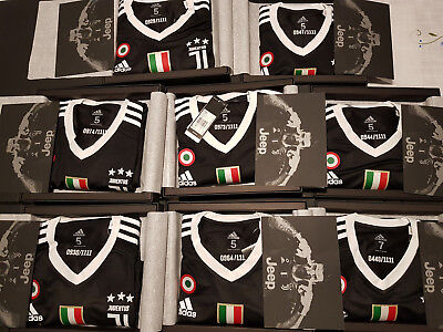 Buffon 1 Adidas Juventus Shirt Limited Edition Black 1111 Pieces Numbered Size S