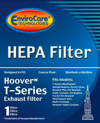 Hoover T Series Exhaust HEPA Filter - True HEPA Filter - 1 Filter Per Box