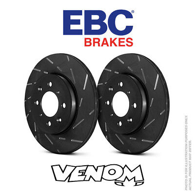 EBC USR Front Brake Discs 312mm for Seat Altea Freetrack 1.6 TD 07-15 USR1386