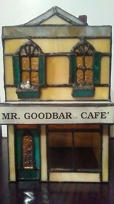Hershey's Chocolate Town USA Stained Glass Mr. Goodbar Cafe Limited Edition 0804