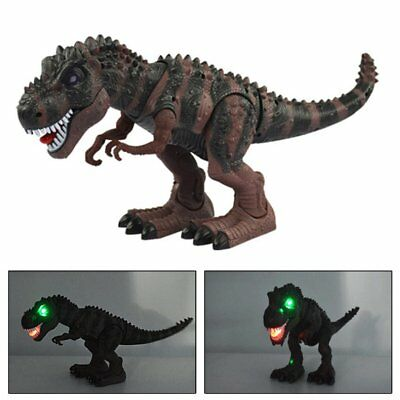 Electric Kids Children Toy Walking Dinosaur T-Rex Figure Toy With Light Sound WA