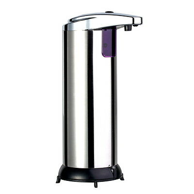 Stainless Steel Handsfree Automatic IR Sensor Touchless Soap Liquid Dispenser G]