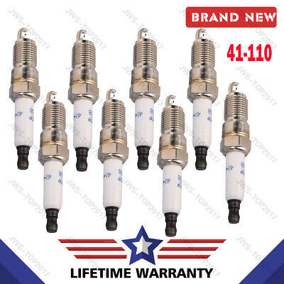 Set 8 AC IRIDIUM SPARK PLUGS 41-110 12621258 For CHEVROLET BUICK GMC HUMMER SAAB