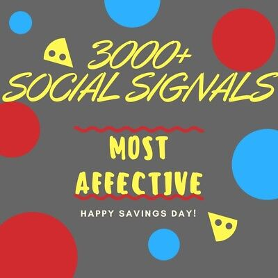 3000+ Social Signals backlinks Bookmarking Social Media Shares SEO