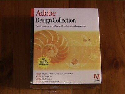 ADOBE DESIGN COLLECTION for Microsoft Windows-NEW/UNOPENED/STILL SEALED