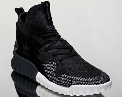 newest 13b07 98712 Mens Adidas Originals Tubular X PK Primeknit shoes Black White BB2379 Sz 7  12