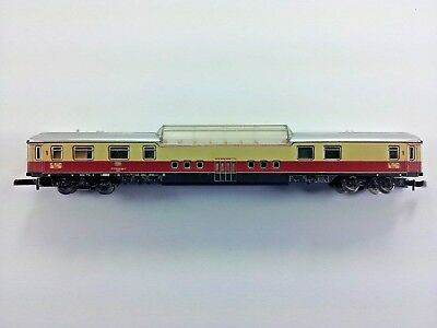 Marklin 8738 Z Gauge TEE DB Dome Observation Coach with Lighting