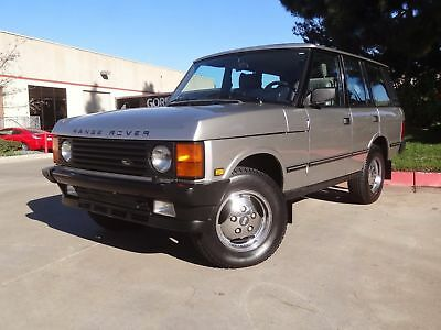 1988 Land Rover Range Rover County 1988 Land Rover Range Rover, One Of a Kind, Collectors Dream Like new,Low miles