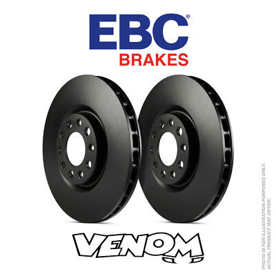 EBC OE Rear Brake Discs 286mm for Seat Altea Freetrack 1.6 TD 2007-2015 D1410