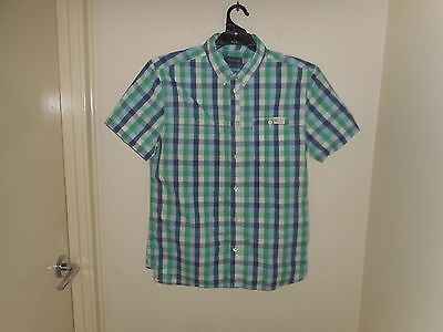 (Used) Kenji Men's Short Sleeve Shirt Size XL ( Small fit )