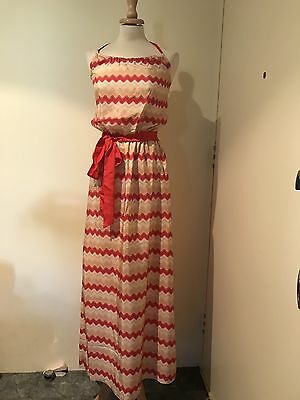 fbe66e96b7d2 Missoni x Target Australia sz 6 AU Halter Dress Red Wave new with tags silk
