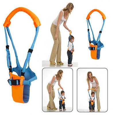 To Moon Walk Walker Assistant Baby Toddler Kid Harness Bouncer Jumper Learn XZ