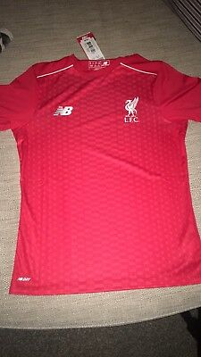 Age 10-11 Liverpool Football Club Training Shirt. New With Tags.