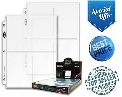 4-Pocket Photo Pages 20-Pack 3.5 X 5 Photos Organizer 3-Ring Binder Sleeves