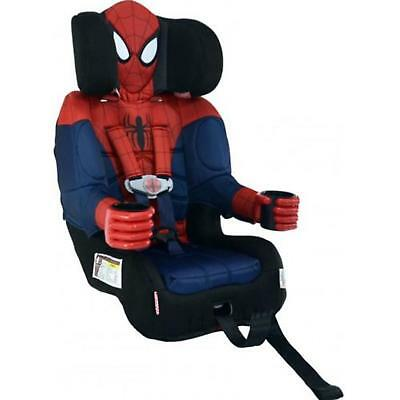 Child Booster Car Seat Spider Man Toddler Infant Portable Chair