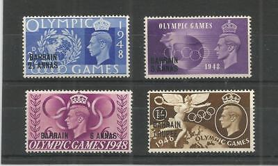Bahrain 1948 George 6Th Olympic Games Sg,63-66 M/mint Lot 6458A